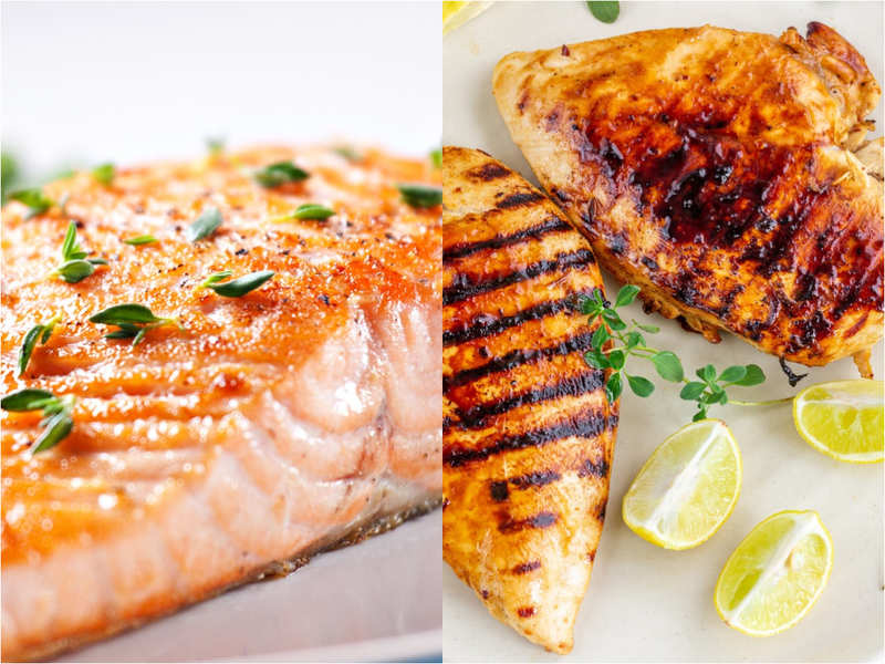 Fish vs chicken: What helps you lose weight faster and why?