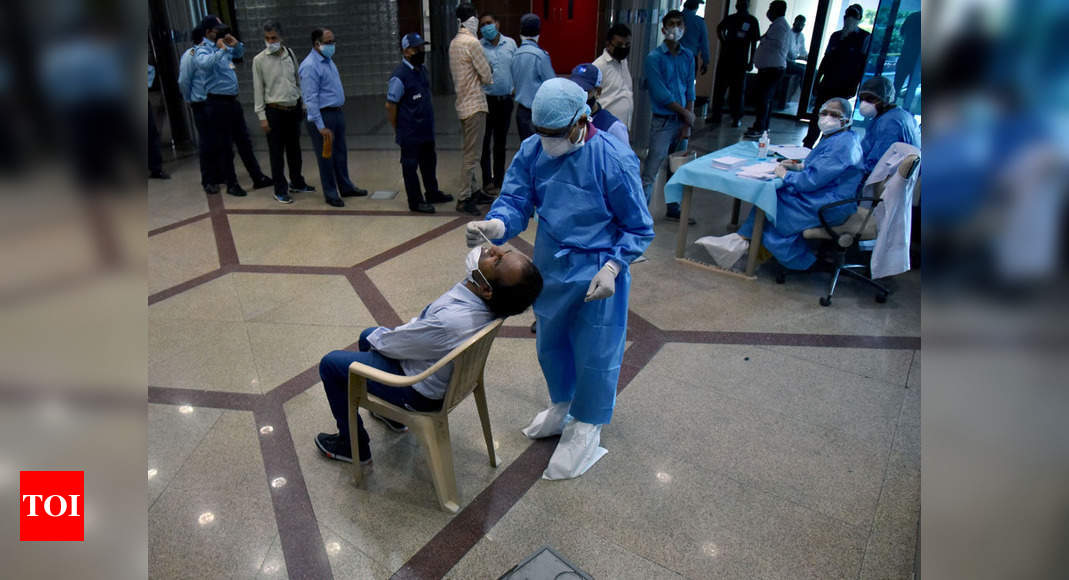 September surge: India No.1 in Covid cases and deaths in first 15 days - Times of India