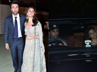 Pics: when Alia-Ranbir were spotted together