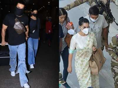 Best airport looks of celebs in times of COVID-19