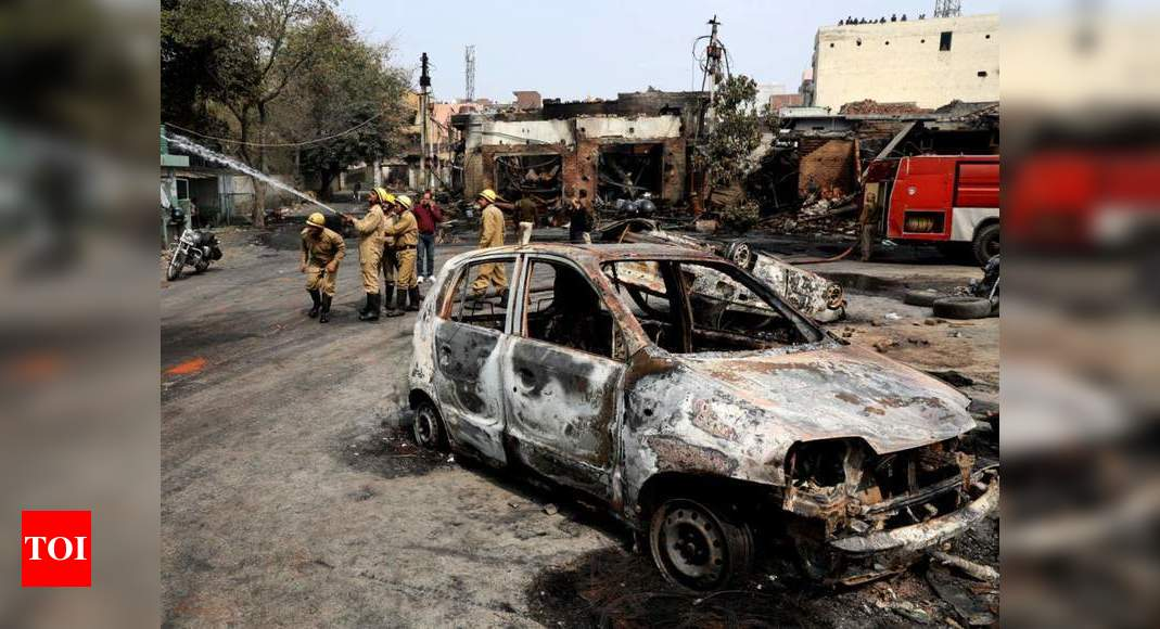 17,000-page chargesheet filed against 15 for riots conspiracy - Times of India