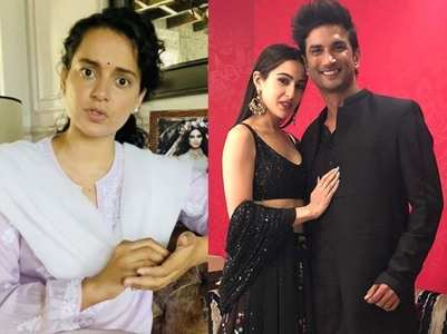 Kangana: B'town ensured SSR-Sara break up