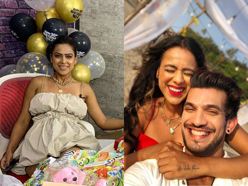 Nia Sharma is loaded with cakes, gifts on her 30th birthday