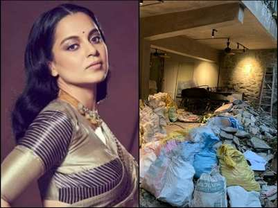 Kangana hits back at Maharashtra government
