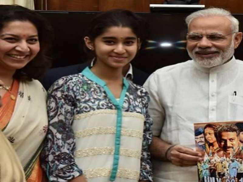 Sudharani wishes PM Modi on his birthday with a throwback picture