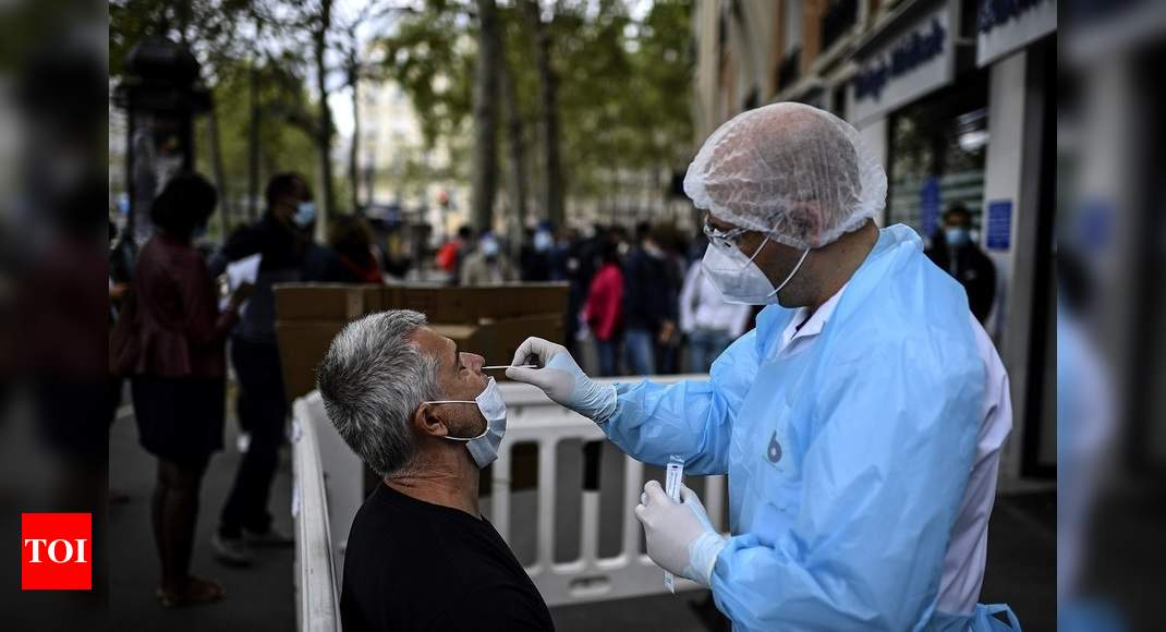 WHO Europe warns of 'alarming' virus transmission rates - Times of India