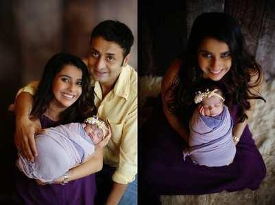 Pranitaa Pandit names her baby girl Anysha