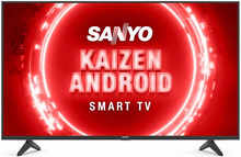 Sanyo XT-43UHD4S 108 cm (43 inches) Kaizen Series 4K Ultra HD Certified Android LED TV (Black) (2020 Model)