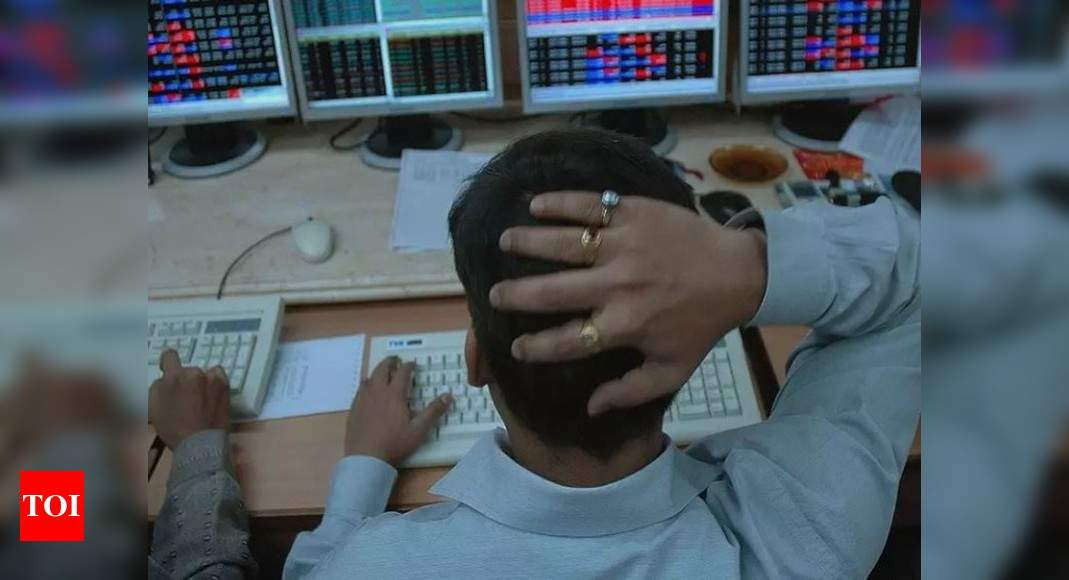 Investors lose over Rs 1L cr as markets fall