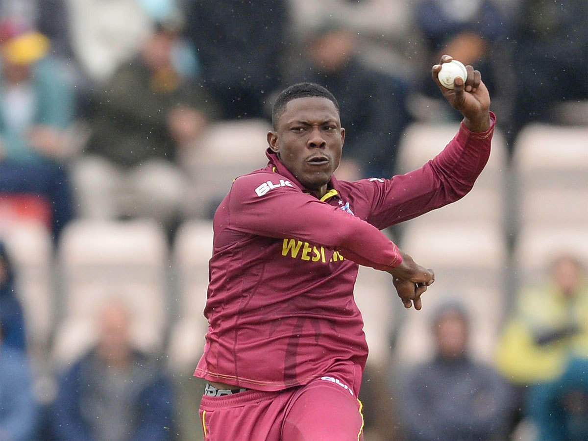 I perform well under pressure: Sheldon Cottrell | Cricket News - Times of India