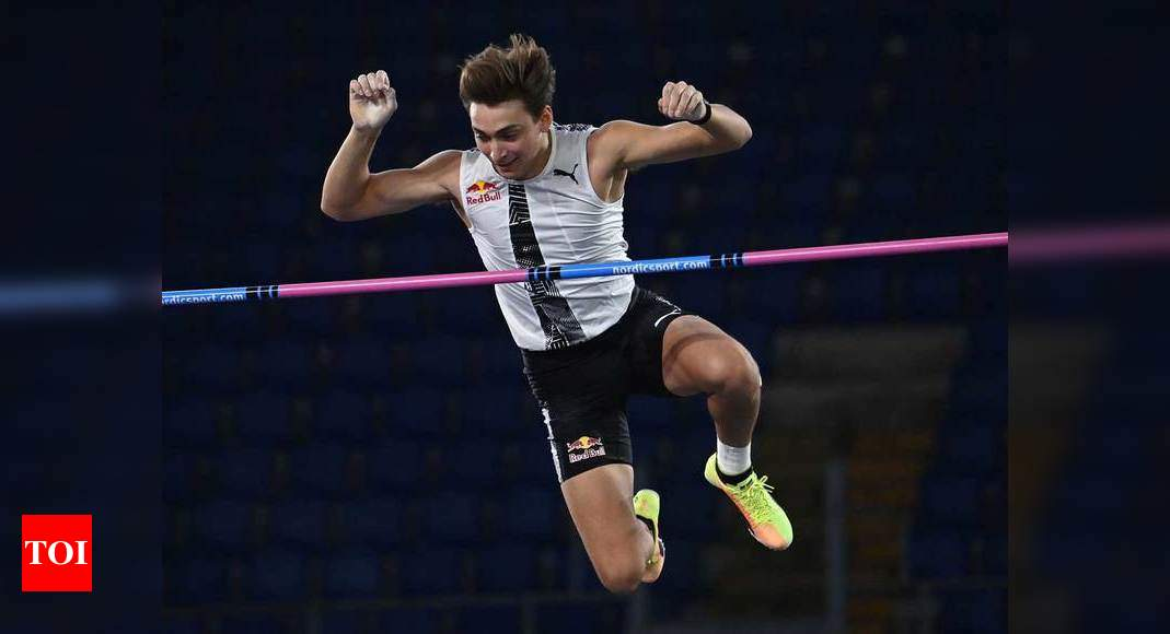 Duplantis breaks Bubka's outdoor pole vault world record