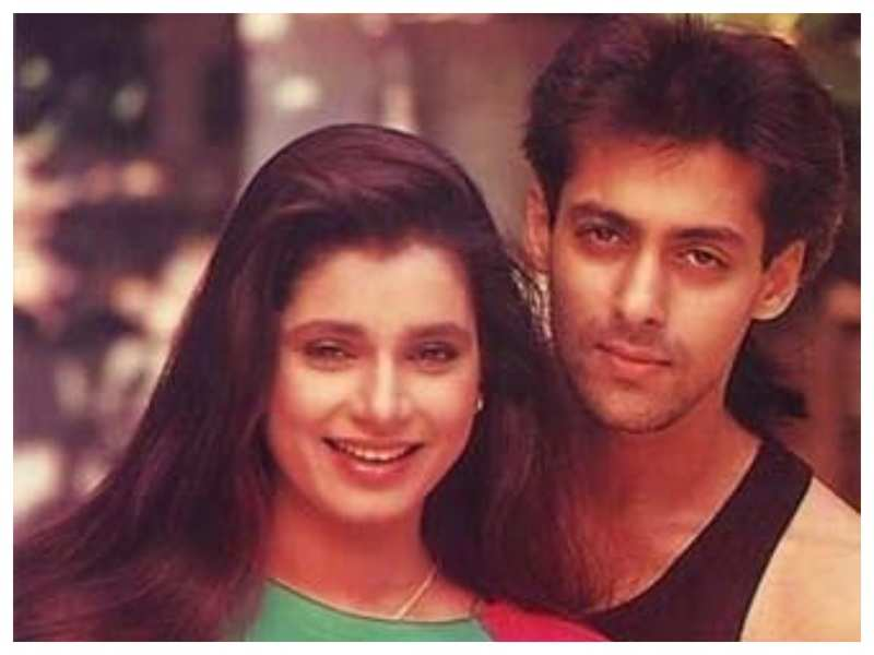Salman Khan and Neelam Kothari's throwback picture from the 90s is pure nostalgia
