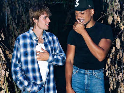 Justin Bieber reunites with Chance