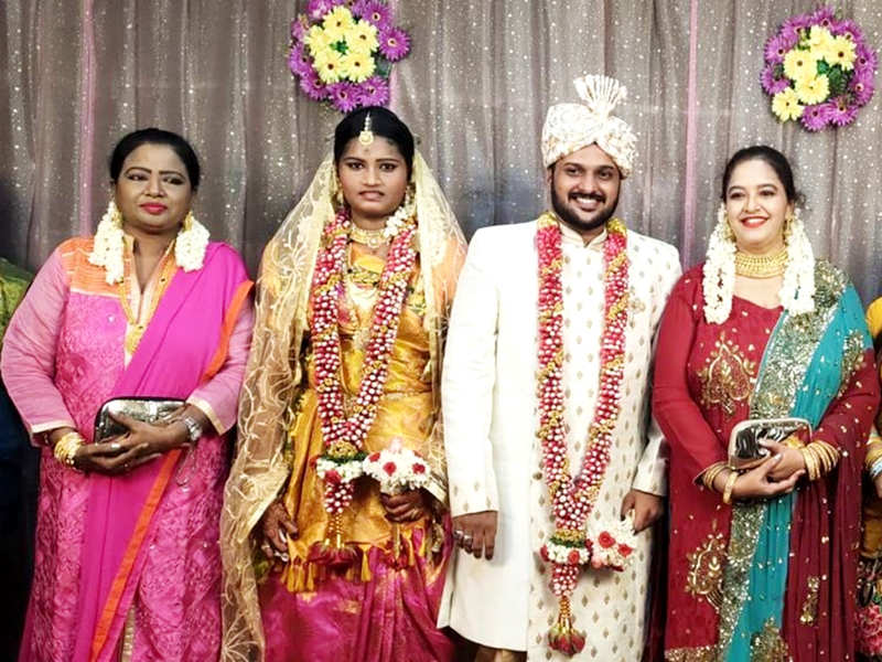 Cooku with Comalis fame Sai Shakthi marries Fatul Fathima; see pics (Photo - Instagram)
