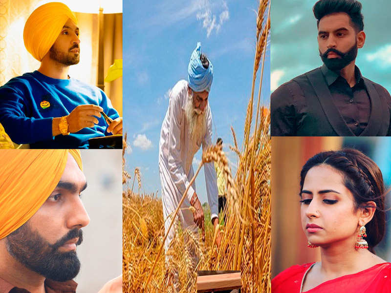 Farmers' protest: Ammy Virk, Sargun Mehta, Diljit Dosanjh, and others Punjabi celebs come in support