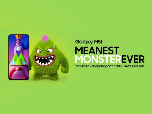 The new spec-king has arrived! Check out 5 reasons why the Samsung Galaxy M51 deserves the #MeanestMonsterEver tag