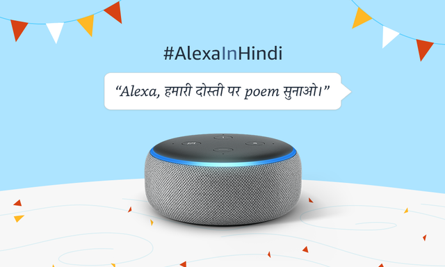 Amazon Alexa app now offers support for Hindi