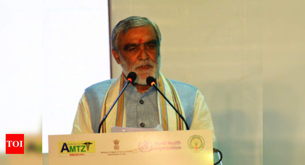 Yoga helping Covid-19 patients boost immunity, reduce stress: Union minister Ashwini Choubey