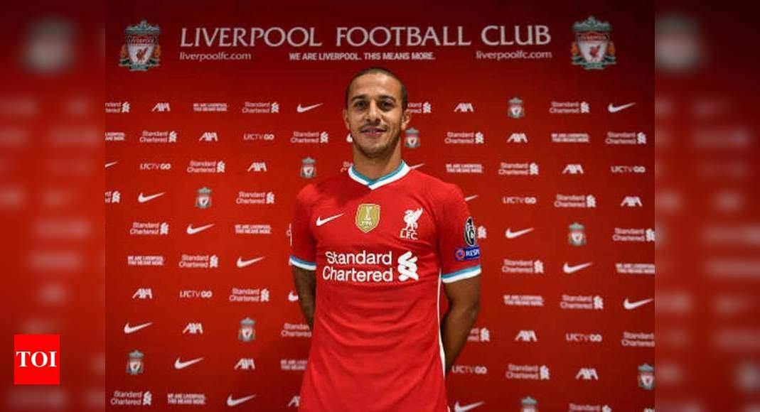 Liverpool sign Bayern Munich's Thiago Alcantara