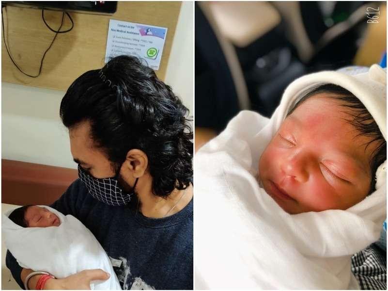 Gaurav Chopraa gives us a glimpse of his baby boy