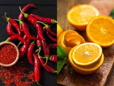 Hot pepper has more vitamin C than oranges. Here are some other health benefits