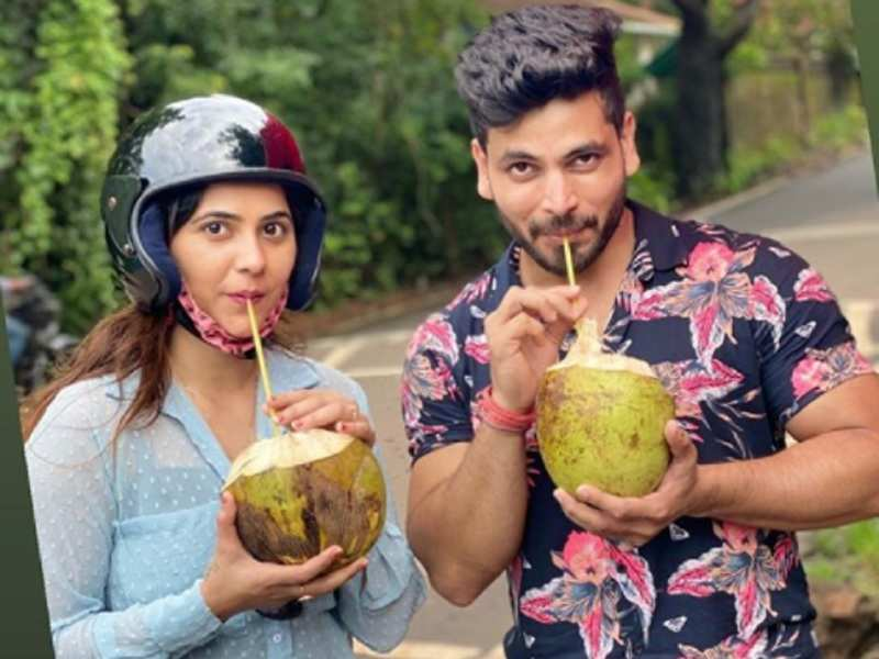Exclusive! Shiv Thakare and Veena Jagtap enjoy a working holiday in Goa