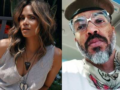 Halle confirms she's dating singer Van Haunt