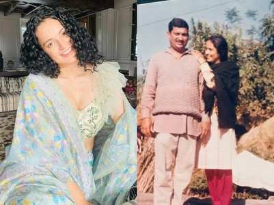 Watch Kangana's favourite pic of parents