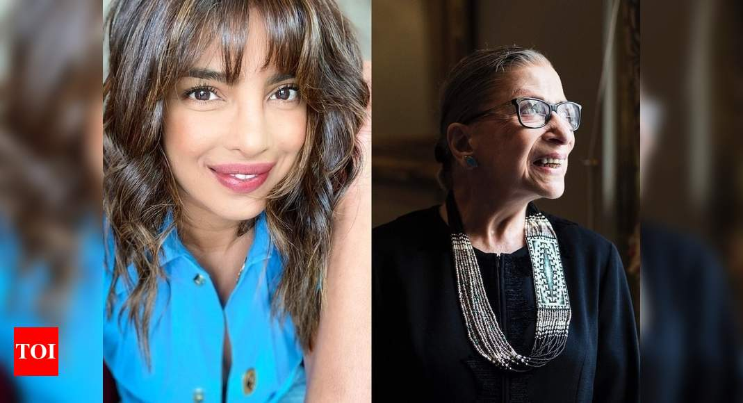 Priyanka Chopra mourn the loss of RBG