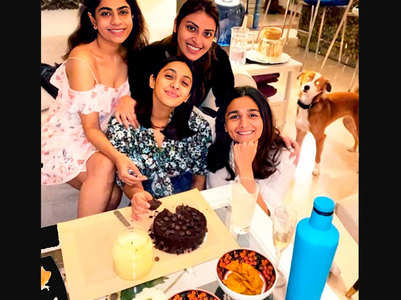 Alia records BBF's cake cutting video