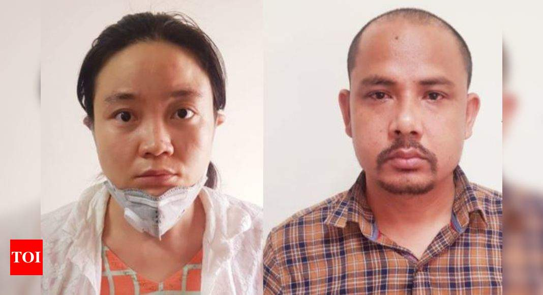 chinese woman nepalese associate held for paying money to scribe for sensitive information india news times of india chinese woman nepalese associate held