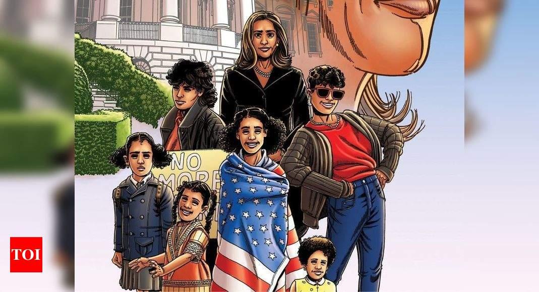 Kamala Harris gets comic book on her