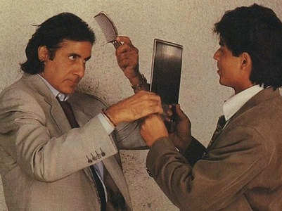 SRK and Big B's throwback pic