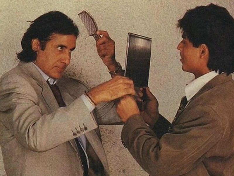 THIS throwback picture of Shah Rukh Khan and Amitabh Bachchan is a pure dose of nostalgia