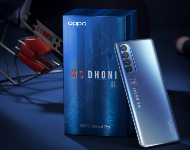 Oppo has a new phone for MS Dhoni fans