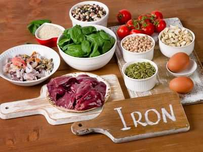 How to increase absorption of iron from the food you consume