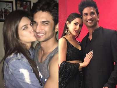 Throwback pics of SSR with his female co-stars