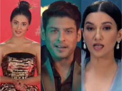 BB14: Watch Hina, Sidharth, Gauahar in new promos