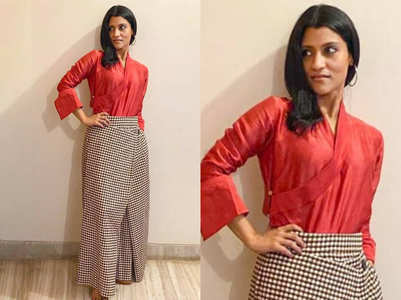 Konkana Sen Sharma stuns in interesting separates