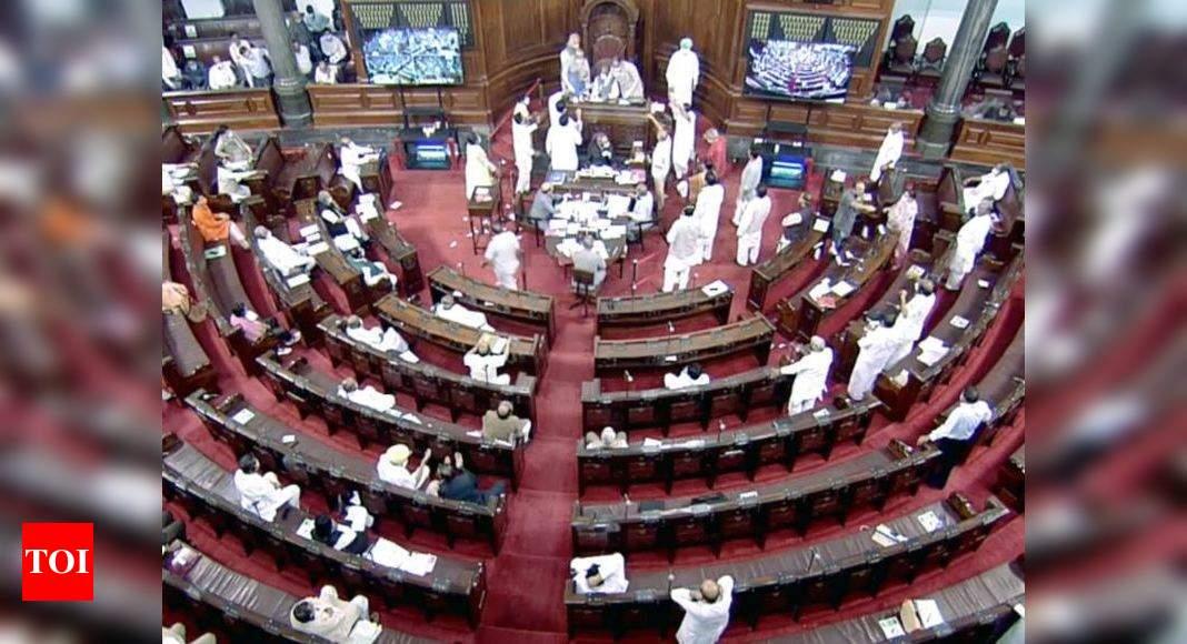 Rajya Sabha passes 2 farm bills amid ruckus by opposition MPs
