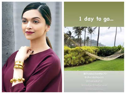 Deepika shares glimpse of her weekend in Goa