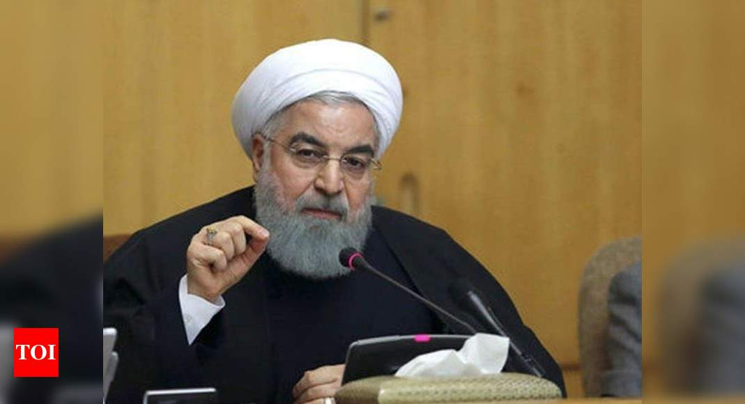 Iran's Rouhani says US faces defeat in bid to reimpose UN sanctions