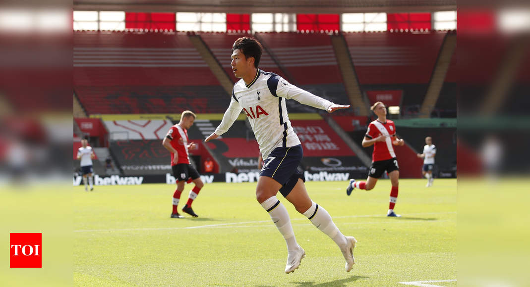EPL: Four-star Son leads Tottenham rout of Southampton