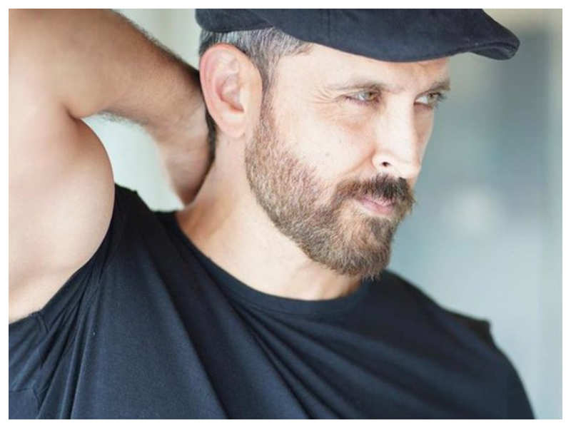 THIS latest picture of Hrithik Roshan is sure to make you go weak in the knees