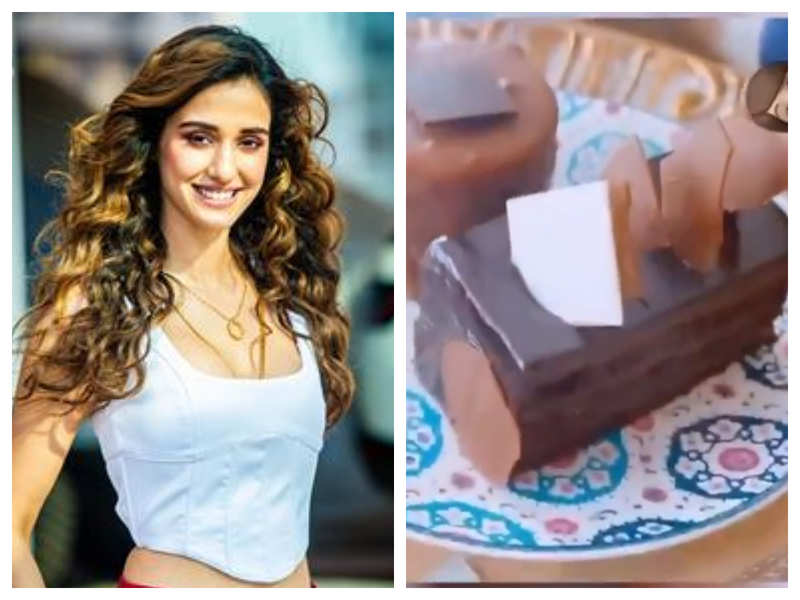 "Watch: Disha Patani gives her fans a sneak peek into her ""Sunday cheat"" and it is sure to make your mouth water"