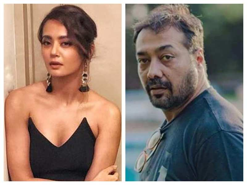 Surveen Chawla supports Anurag Kashyap: I take the honour my friend to stand for you