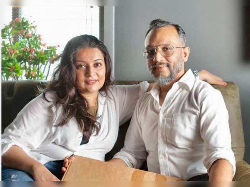 Sucheeta Trivedi and her husband Nigam Patel