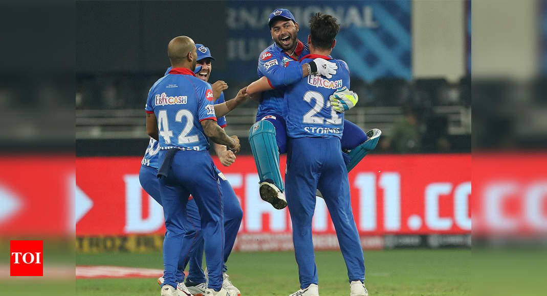 Delhi Capitals vs Kings XI Punjab: All-round Stoinis, cool Rabada ensure Super Over victory for DC | Cricket News – Times of India