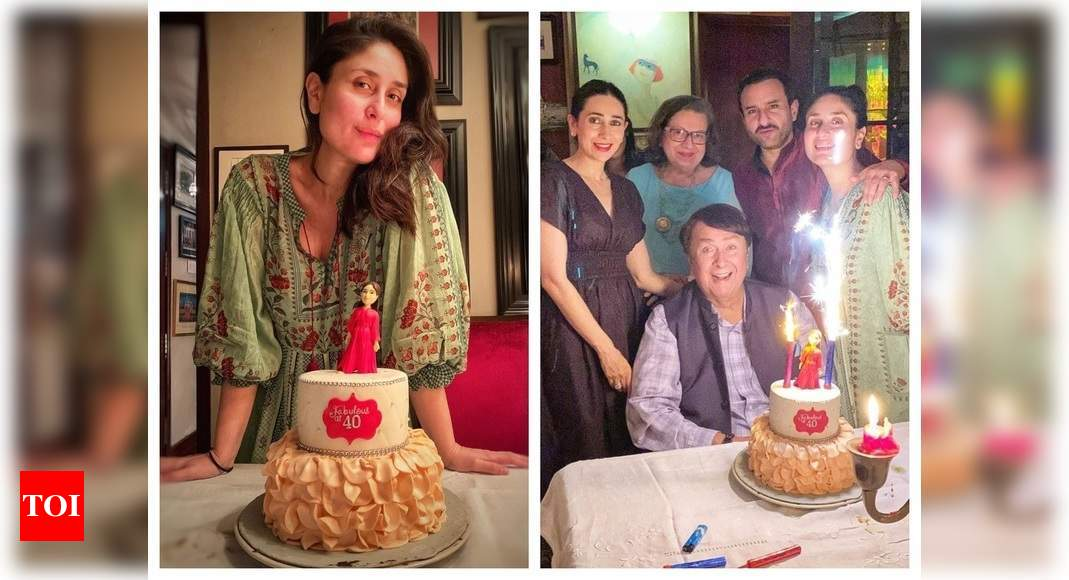 Bebo celebrates her 40th b'day with family