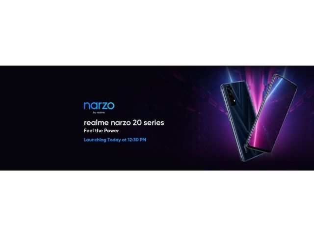 Realme Narzo 20 series phones to launch in India today: How to watch the live stream